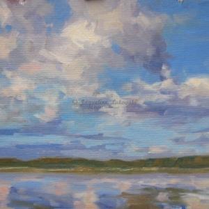 Big Sky Over Bass Lake